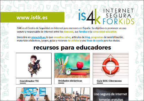 Kit para educadores de IS4K
