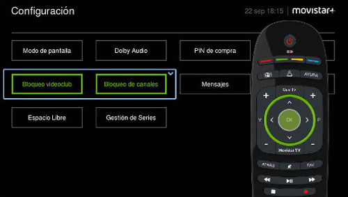 Configuración del PIN Parental en Movistar +