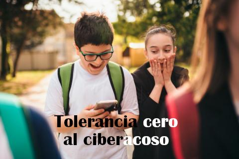 Tolerancia cero al ciberacoso