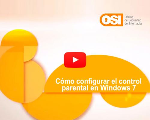 Cómo configurar el control parental en Windows 7