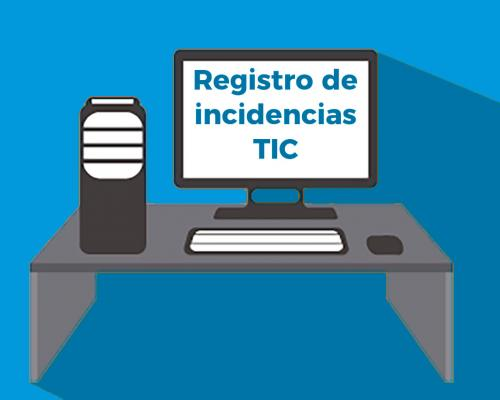 Modelo de registro de incidencias TIC en el centro